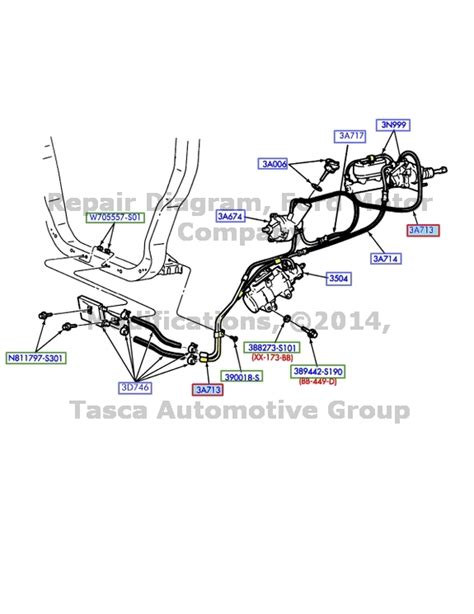 electric power steering 2003 ford e series parking system new oem power steering return hose 2000 2003 ford f series sd excursion 7 3l ebay