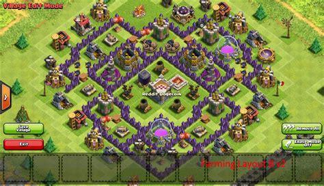 layout coc pertahanan terkuat base coc th 7 terbaik terkuat untuk war dan farming tahun