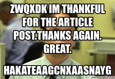 Thankful Meme - zwqxdk im thankful for the article post thanks again great