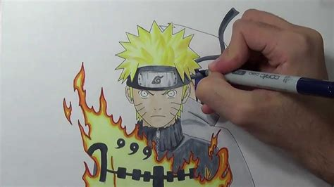 drawing naruto  sasuke youtube