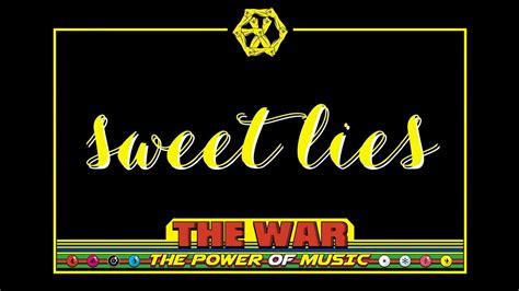 download mp3 exo sweet lies exo 엑소 sweet lies 甜蜜谎言 chinese pinyin english