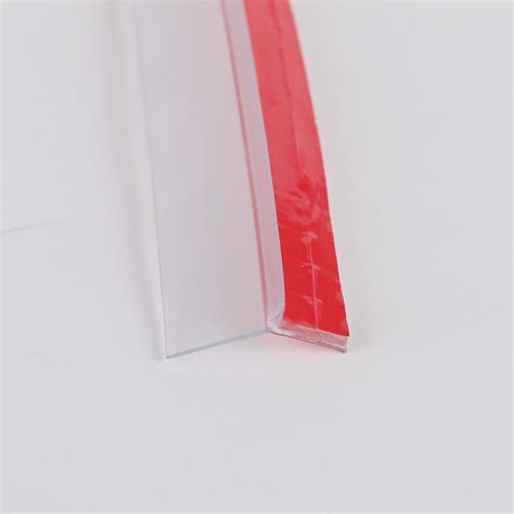sliding doors seal vertical bath shower screen seals adhersive back fin
