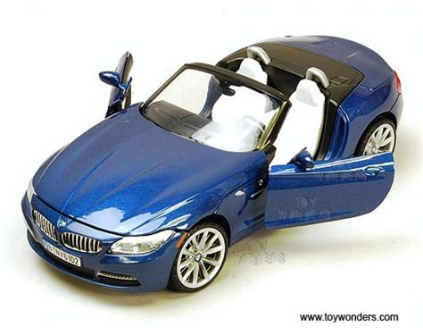 Bmw Z4 Roadster Diecast Ofc 2010 bmw z4 convertible by motormax 1 24 scale diecast