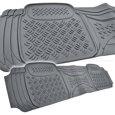 Rubber Mat Smell by Truck Gray Rubber Floor Mats Eco Odor Free Motor Trend