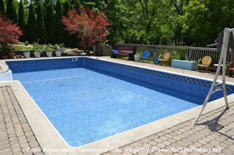mountaintop blue mosaic pool liner