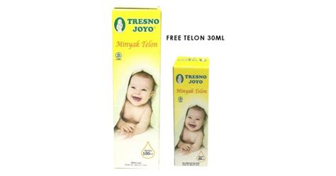 Minyak Telon Tresno Joyo jual murah tresno joyo minyak telon 100ml free minyak telon 30ml bath skin care di jakarta