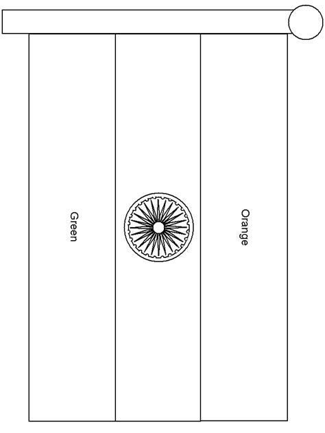 coloring page for indian flag india flag free coloring pages