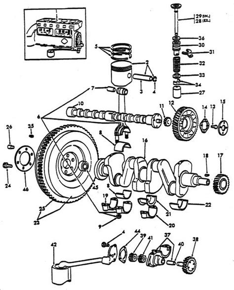 ford parts diagrams 8n ford tractor engine diagram get free image about