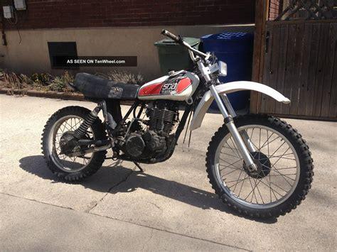 vintage yamaha motocross bikes 1976 yamaha xt500 tt500 xt tt 500 vintage ahrma dirt