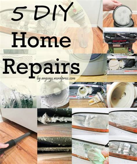 5 diy home repairs angela says