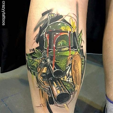 boba fett tattoo tattoo collections