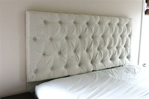 Tufted Headboard Diy Diy Tufted Headboard Super Easy To Easy Diy Tufted Headboard