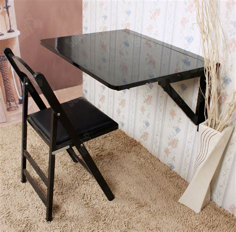Folding Table Attached To Wall Sobuy 174 Wall Mounted Drop Leaf Table Folding Wood Table Desk 75x60cm Fwt05 Uk Ebay