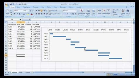simple gantt chart template excel create a basic gantt chart system a