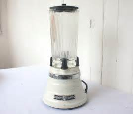 retro blender vintage waring blender beehive with clover glass jar and lid