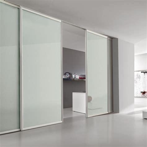 porte interne in alluminio e vetro porta plana incasso free minimal vetro bianco