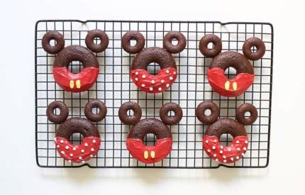 Ecer Re Ment Donuts Disney Mickey Minnie Sugar Chocolate make your own mickey minnie donuts the mouse