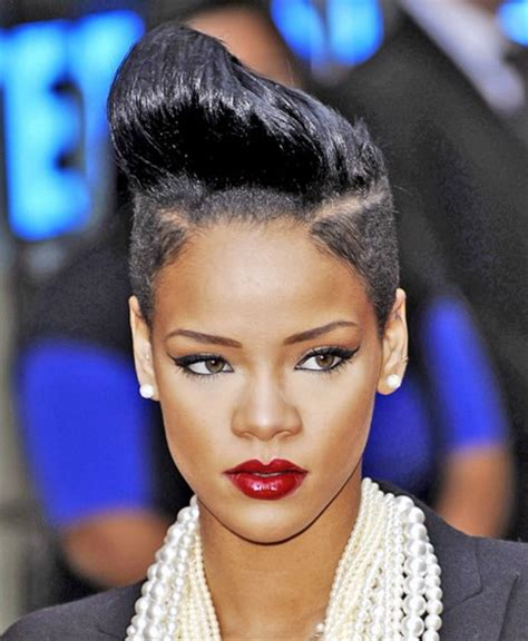 rihanna hairstyles cut rihanna short hair styles 2015