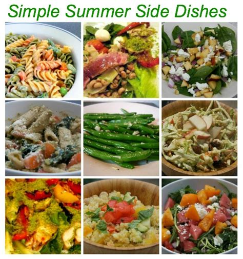 10 simple summer side dish recipes salads slaws more