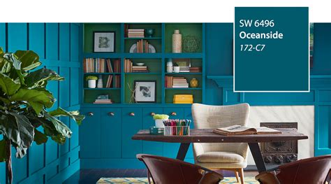 sherwin williams paint store oceanside introducing the 2018 color of the year oceanside sw 6496