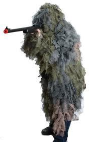 Kamuflase Skirmish Camo Jaring Ghilie Suit introduction to airsoft iliganairsoft
