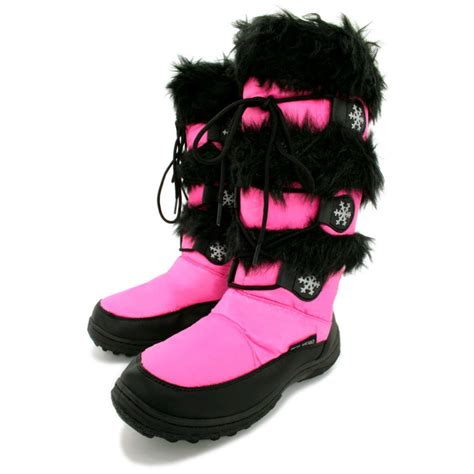 pink snow boots for boot yc