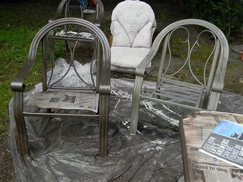 Recovering Patio Chairs Repaint Patio Furniture Recover Cushions Craft Ideas