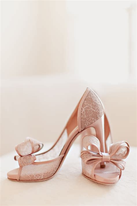 blush colored sandals blush colored lace bridal shoes elizabeth designs