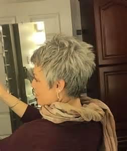back views of gray hair styles 20 good short grey haircuts short hairstyles haircuts 2017