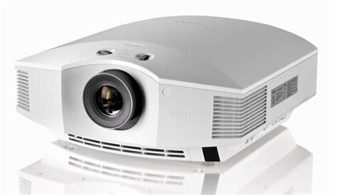 Projector Sony Hw40es sony lanceert vpl hw40es hd 3d home cinema projector 3dtv magazine