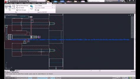 tutorial autocad mechanical autocad mechanical 2013 tutorial drawing sheets in model