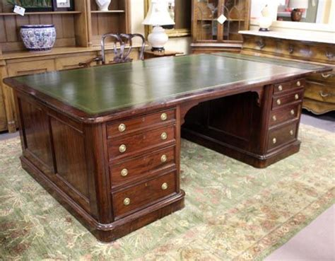 Furniture Consignment Gallery by Mahogany Partners Desk Circa 1880s
