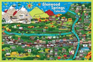 glenwood springs colorado map pmap of glenwood springs co images