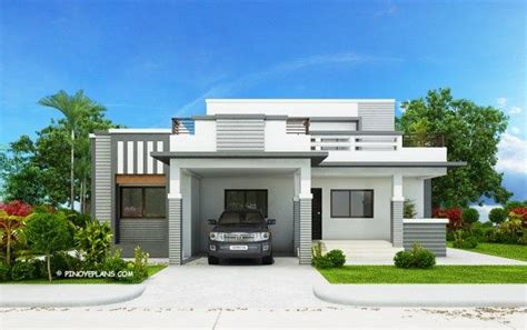 style house plans 2018 this four bedroom modern house design with roof deck has a total floor area of 177 square meters
