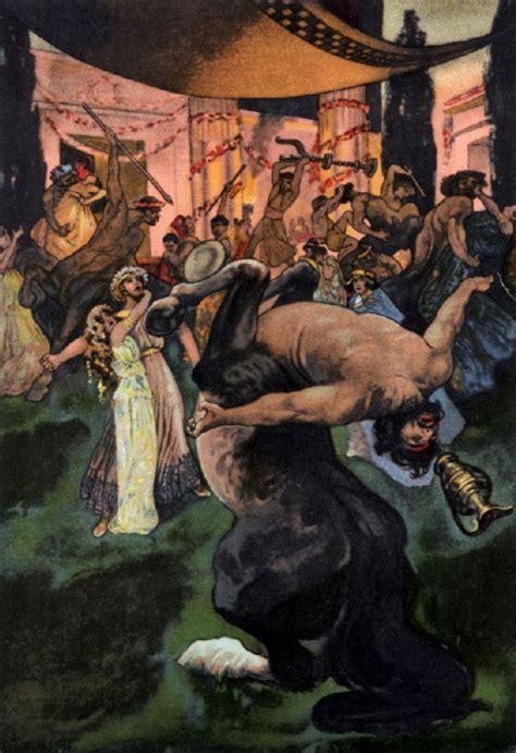 theseus and the centaur a greek legend