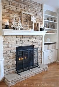 about stone fireplaces pinterest cast fireplace tile around home design ideas