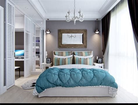 Designing A Bedroom 2 Provence Style Apartment Designs With Floor Plans