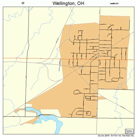 wellington ohio map wellington oh pictures posters news and on your