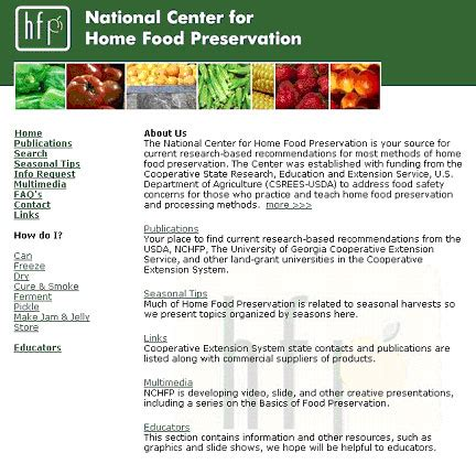 national center for home food preservation nchfp