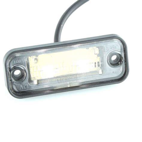 Led Plat Nomer recess mount led number plate light 82mm car builder