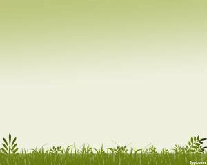 Nature Template by Grass Background Powerpoint Template Is A Ppt Template