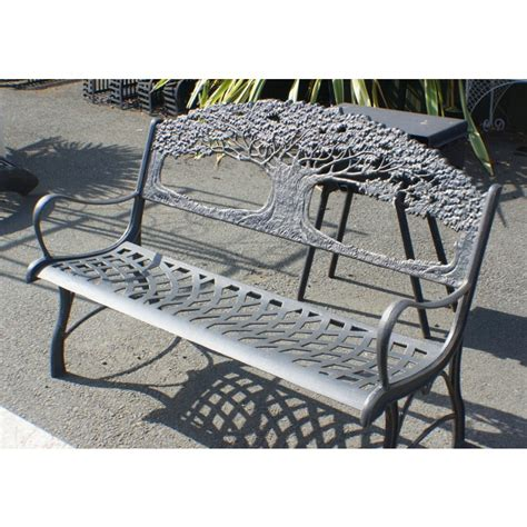 cast iron tree bench iron garden benches black country metal works
