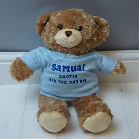 personalised teddy bear by simply colors