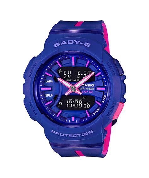 Casio Baby G Bga 240l 2a2dr Jam Tangan Wanita Original Garansi bga 240l 2a1 seri for running baby g penunjuk waktu casio