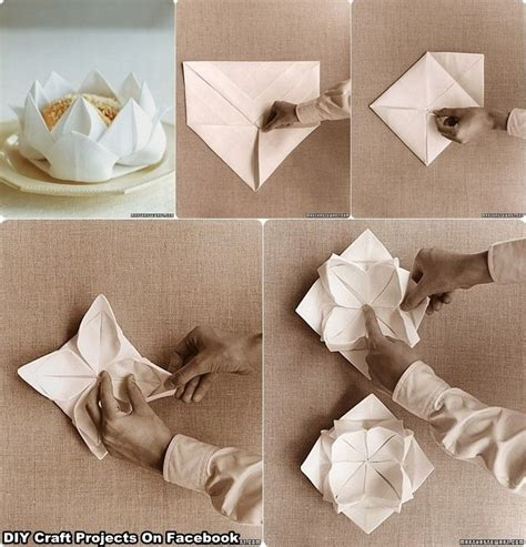 Fancy Paper Napkin Folding Ideas - 89 best images about table setting on