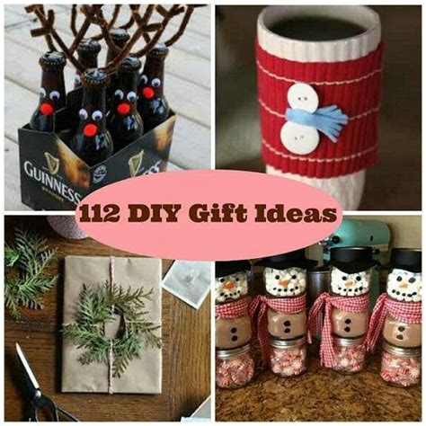 gift ideas diy christmas gifts holidays pinterest