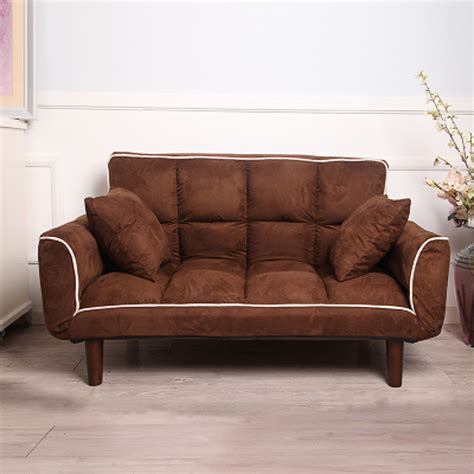 Reclining On A Bed by Modern Armchair Sofa Bed 5 Angle Adjustable Reclining Back And Arm Living Room Furniture Home