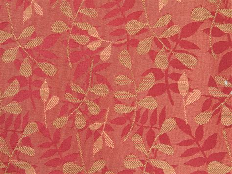 pattern background fabric fabric texture red leaf pattern floral print desktop