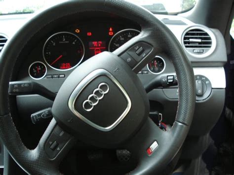 genuine audi round multifunction steering wheel