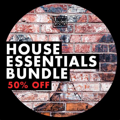 house necessities undrgrnd sounds house essentials bundle at loopmasters